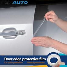 Car Door Edges Guard Paint Protective Film Anti scratch Wrap Sticker Styling Mouldings Universal 1.5cmx5m Door Scratch Protector