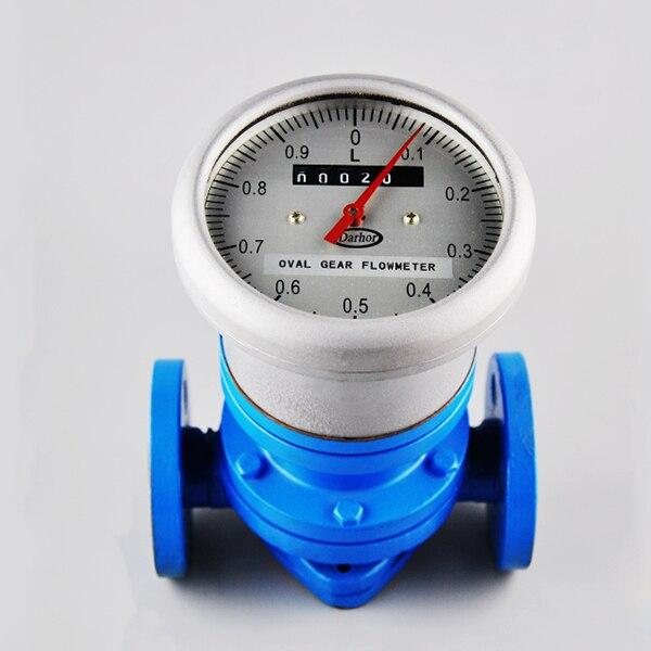 Venda quente oval engrenagem diesel medidor de fluxo de combustível sensor