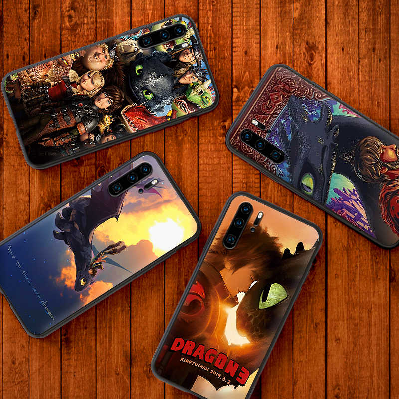 Para huawei honor 7A 9X Pro 8 9 10 lite 7C How to train your dragon 5.99IN 7X 8X 8C NOTA 10 VISTA 20 caso de telefone Celular