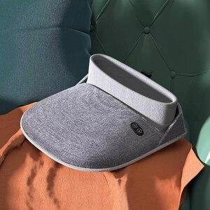 Image 2 - Xiaomi Youpin PMA grafen ogrzewacz do stóp masaż buty stóp ogrzewacz do stóp talia masażer powrót duży pantofel ciepły