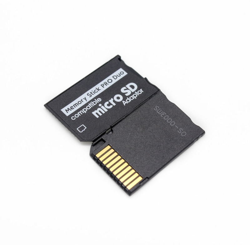 Micro SD SDHC TF To Memory Stick MS Pro Duo  Adapter Card Adapter For PSP 1000 2000 3000