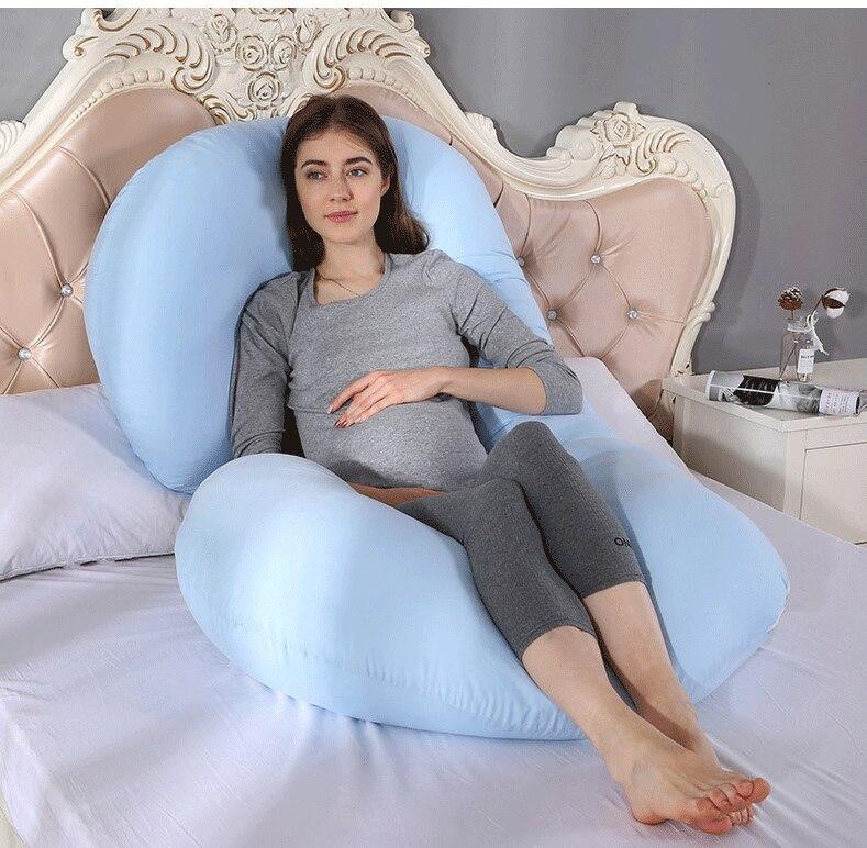 Amazon Tmall структура поставляет большой u-беременность подушка, подушка для поясницы многофункциональная спальная Подушка Большой C Тип беременных женщин Бо