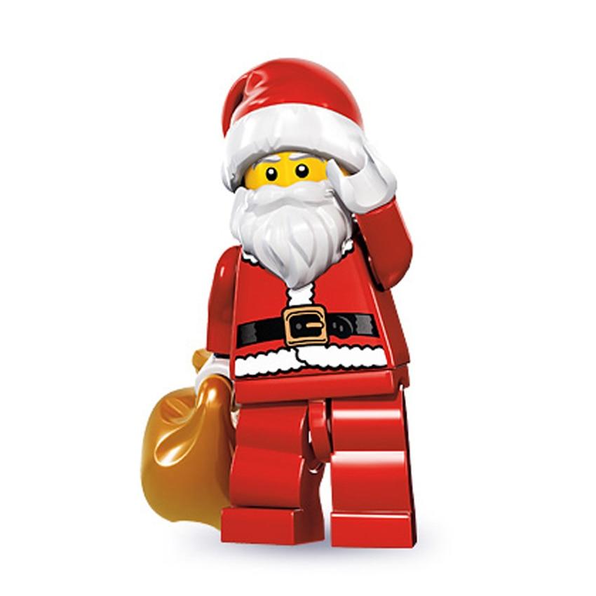 Figures Toys Christmas Halloween Santa Claus Grinch Joker Deadpool Darth Vader Harley Building Blocks Bricks Toys For Children