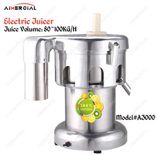 WF-A3000/B3000 Electric commercial juicer machine Slow juice extractor stainless steel desktop fruit squeezer with capacity 80-1 цена и фото