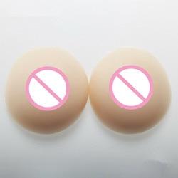 1800 g/paar Siliconen Borstprothesen Nep Borsten Transgenders F Cup Plus Size Lingerie Strapless Beha 2019