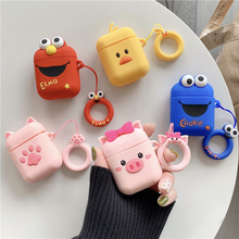 3D Cute Cartoon Earphone Cover For Apple AirPods 2 Earpods S