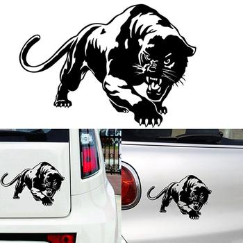 J-250 Car Exterior Decoration Wild Animals Leopard Decal Styling Sticker Tape image