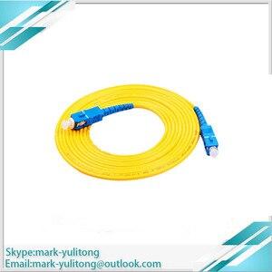 Image 3 - 3 м 5 м 10 м FTTH SC APC Волоконно оптический соединительный кабель SC / APC SC / APC или SC /UPC SC / UPC Волоконно оптический соединительный шнур SC UPC APC