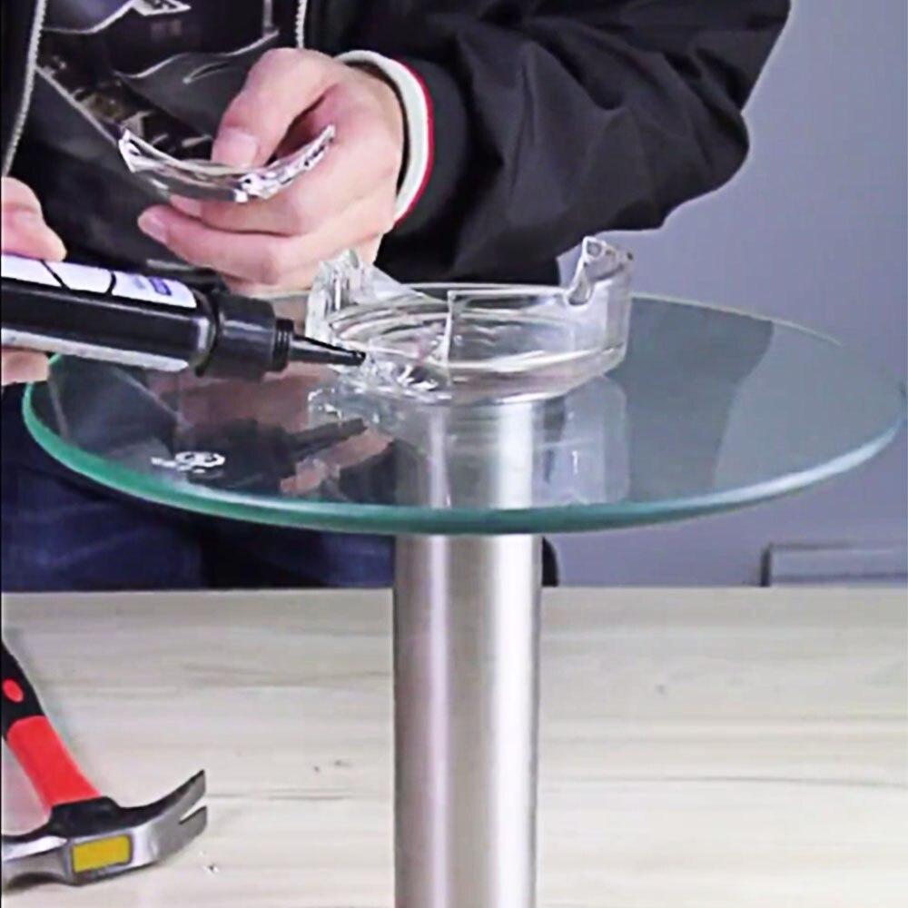 Nenhum traço rachado kit de reparo vidro pára-brisa nano reparação líquido diy tela do telefone da janela do carro reparação utensílio zero crack restaurar