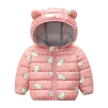LZH 2020 Autumn Winter Newborn Baby Clothes For Baby Boys Jacket Baby Dinosaur Print Outerwear Coat For Infant Baby Girls Jacket 18