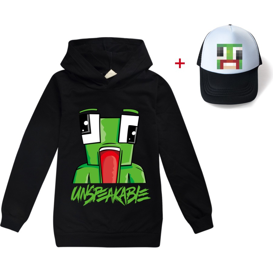 2021 Children Hoodies UNSPEAKABLE YOUTUBER Prestonplayz Boys Long Sleeves T-shirts KidsGirl Clothes T shirts clothes tee tops 1
