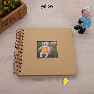 Paper Photo Album Diy Fotoalbum Photoalbum Kids Memory Book De Fotografia Baby Scrapbooking Fotograf Albumu Portafoto Plakboek(China)