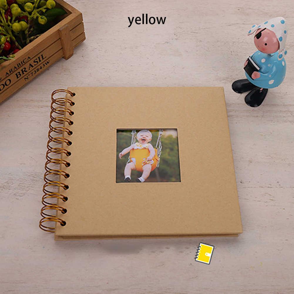 Paper Photo Album Diy Fotoalbum Photoalbum Kids Memory Book De Fotografia Baby Scrapbooking Fotograf Albumu Portafoto Plakboek Aliexpress