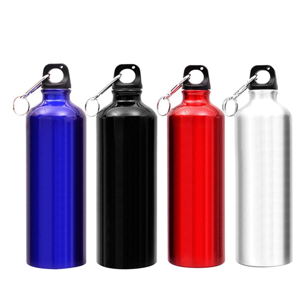 750ml Aluminium Alloy Outdoor Sports Insulated Water Bottles Camping Bicycle Exercise Sport Water Bottle Cup With Lid