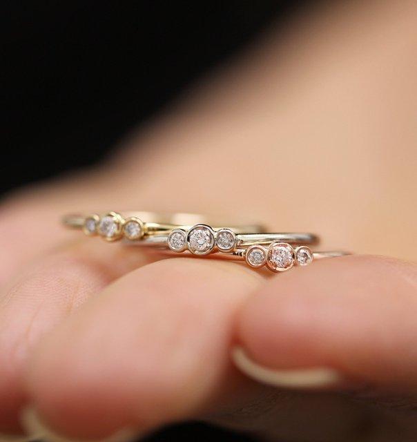 Купить богемные милые простые циркониевые кольца в стиле бохо для женщин