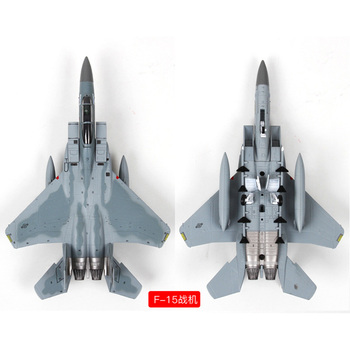 Alloy F14/F15 aircraft model simulation 1:100 static American aviation model ornaments collectibles gifts terebo 1 72 aircraft model alloy f 22 fighter simulation finished ornaments military model aircraft model collection gift