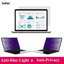 befon 13.3 Inch Privacy Filter Anti Blue Light Screen Protective film for Widescreen