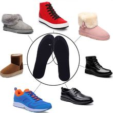 Shoe-Insoles Heater Electric-Powered USB Winter 1-Pair Diy-Cut Washable Unisex