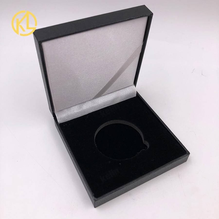 Золотой/посеребренный эфириум монета Биткоин памятная монета художественная коллекция подарок физическая имитация из металла вечерние украшения для дома - Цвет: coin empty box