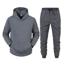 Suits Sweater Hooded And Spring Trousers Can-Be-Customized Two-Piece Leisure Hot-Sale
