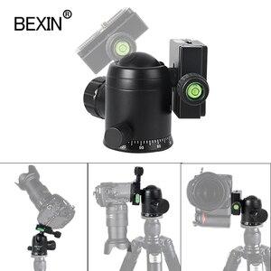 Image 5 - K36 חצובה ראש 360 תואר פנורמה כדור ראש מצלמה הר stand חדרגל ראש תמונה ירי עבור נקודת dslr מצלמה חצובה