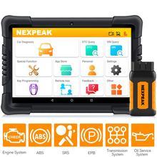 NEXPEAK K1 Pro OBD2 Scanner Diagnostique De Voiture Outil pour Auto ABS Airbag Dhuile EPB Réinitialisation de DPF Obd 2 Bluetooth Tout Système de Diagnostic Automobile