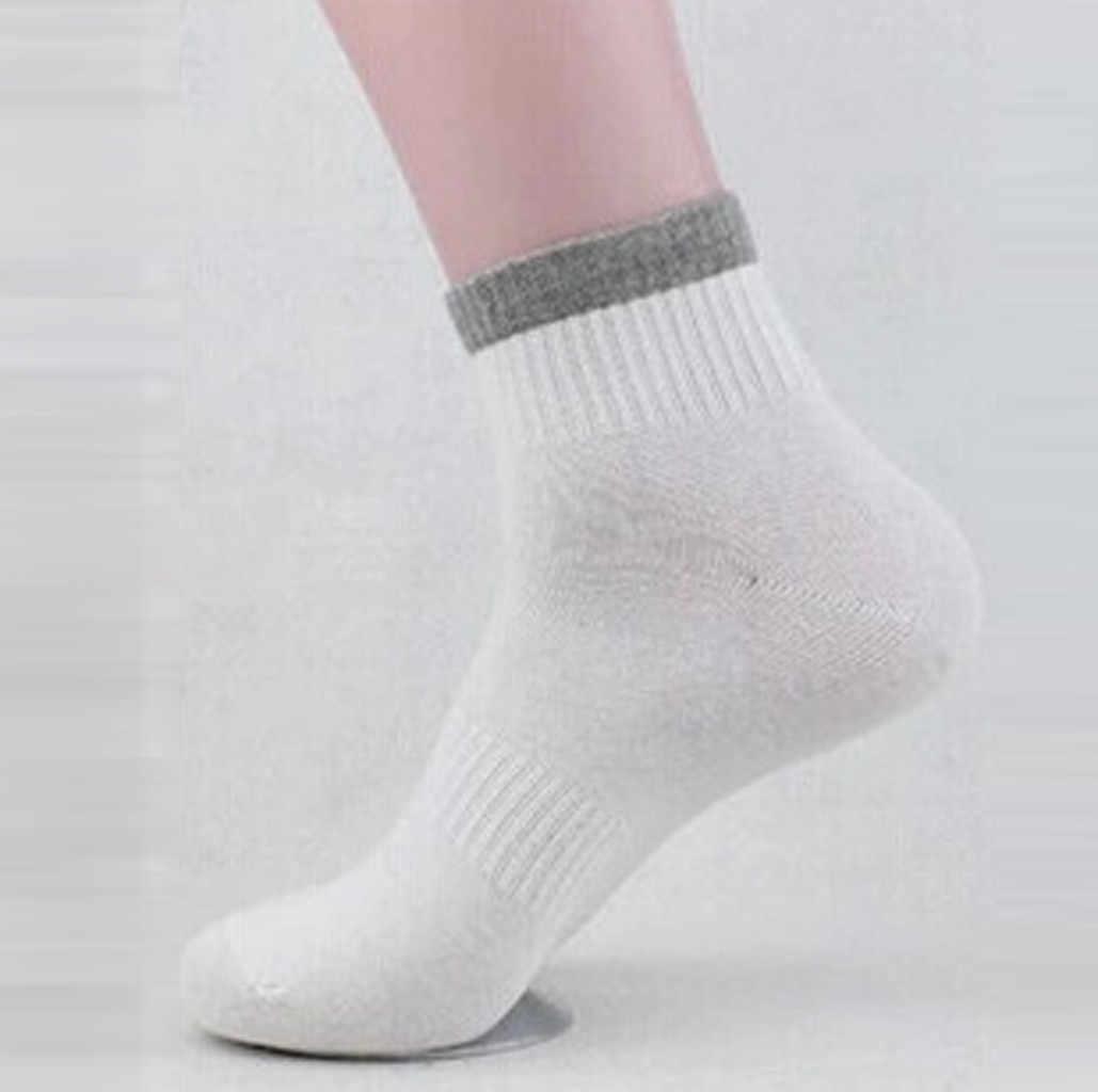 1 ペアメンズ靴下非弾性 100% 純粋な綿の靴下快適ソフトグリップ糖尿病ヒップホップ calcetines hombre 男性靴下 meias 靴下