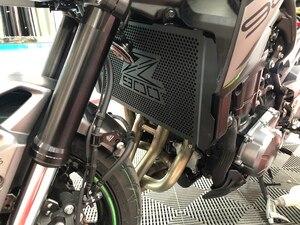 Image 5 - Per Kawasaki Z900 Z 900 z900 Nuova Moto Griglia Del Radiatore Guard Protezione Per Kawasaki Z900 Z 900 2017 2018 2019 Accessori