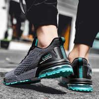Zapatos para hombre 2019, Zapatillas transpirables y cómodas para adultos, zapatos informales para hombre, zapatos de moda para hombre, Zapatillas deportivas con cordones para hombre