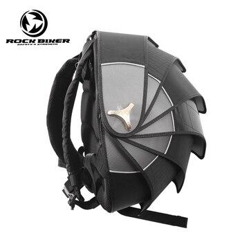 Mochila De motociclista de ROCK, impermeable, de gran capacidad, bolsa de cola de Pangolin, mochila de Moto, mochila de Moto, bolsas para casco de ciclismo