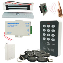 Door-Access-Control-System-Kits Lock Door-Bell 12v5a-Power RFID Full-125khz DIY