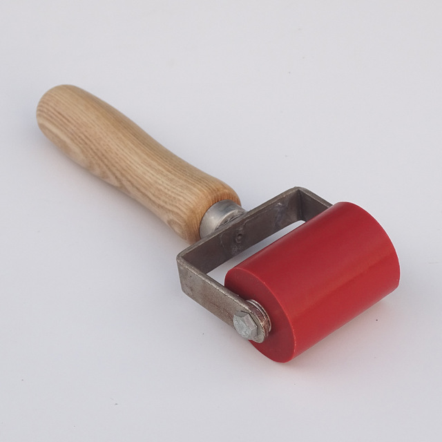 50mm silicone gel Pressure Seam Rollers Silica Gel Roller for Plastic Welder Gun