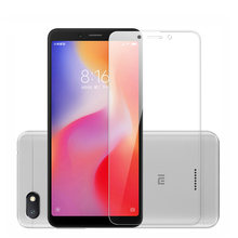 Tempered glass on xiaomi redmi note 5 6 7 8 pro glass on redmi 6A 7A screen protector for redmi 5 plus 5A protective film Case(China)