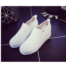 Spring Autumn canvas shoes Women Platform shoes