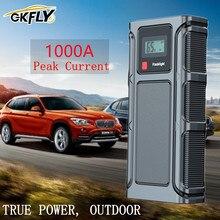 GKFLY 1000A Hohe Aktuellen Auto Starthilfe Start Gerät Notfall Auto Batterie Booster Tragbare Power Bank Ladegerät Booster