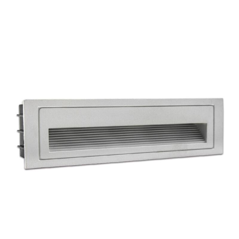 1pcs 10W COB LED Wall Lamp LED Stair Light Step Light Recessed Buried Lamp Indoor/ Outdoor IP68 Waterproof Staircase Step Lights