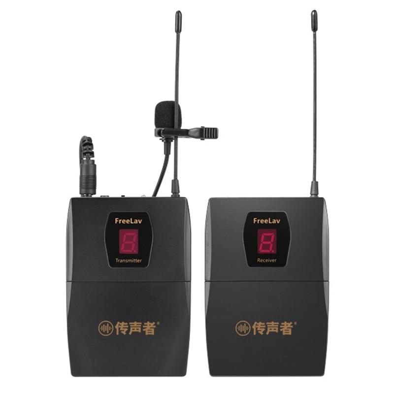Беспроводной ручной микрофон для камеры Nikon Canon, интервью и съемки, как видео клип интервью микрофонная система для видео