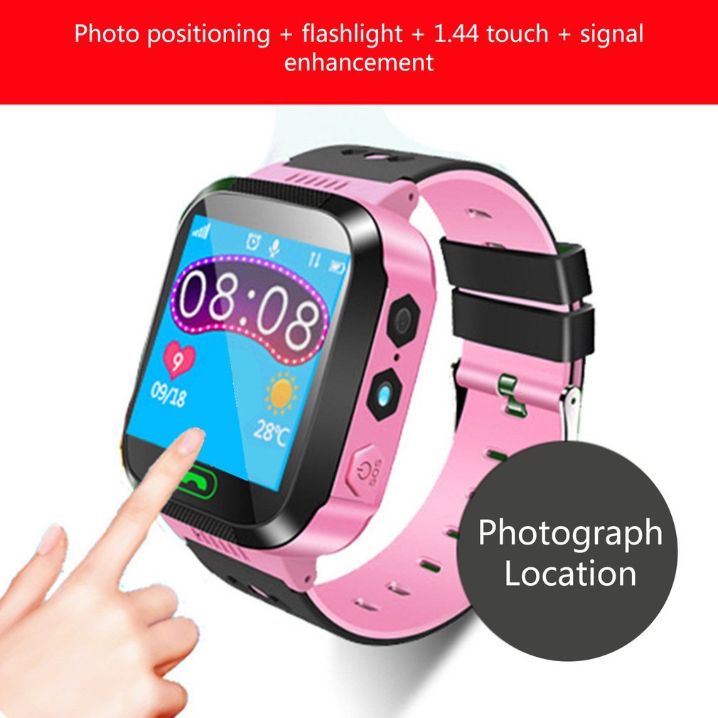 A16 Waterproof Kids Smartwatch Lbs Base Station Tracking Positioner S0S Sim Call Smartwatch With Camera Waterproof