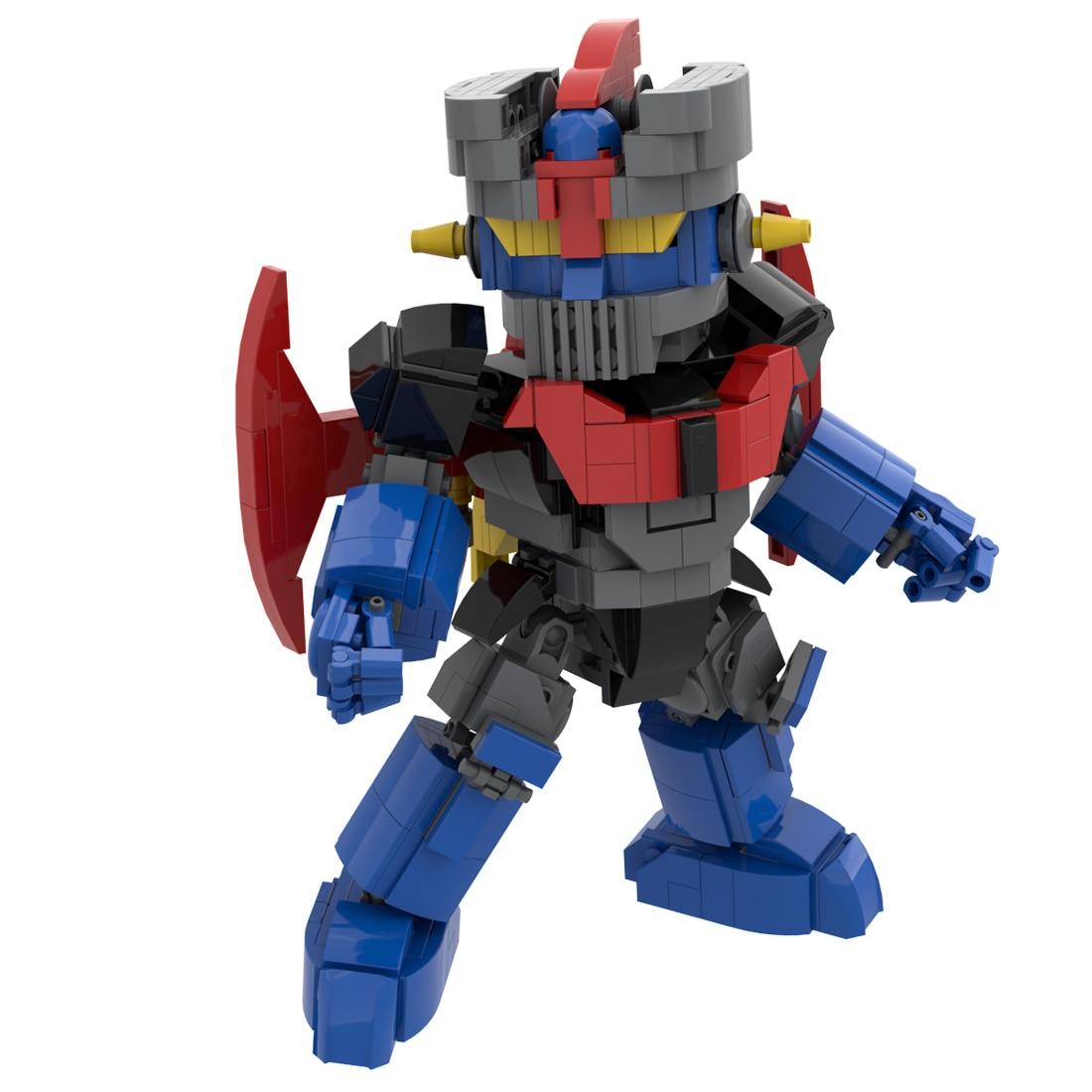 619Pcs/Set Moc Superalloy Combat Robot Model Assembly Small Particle Building Blocks Educational Toy Set DIY Science Remote