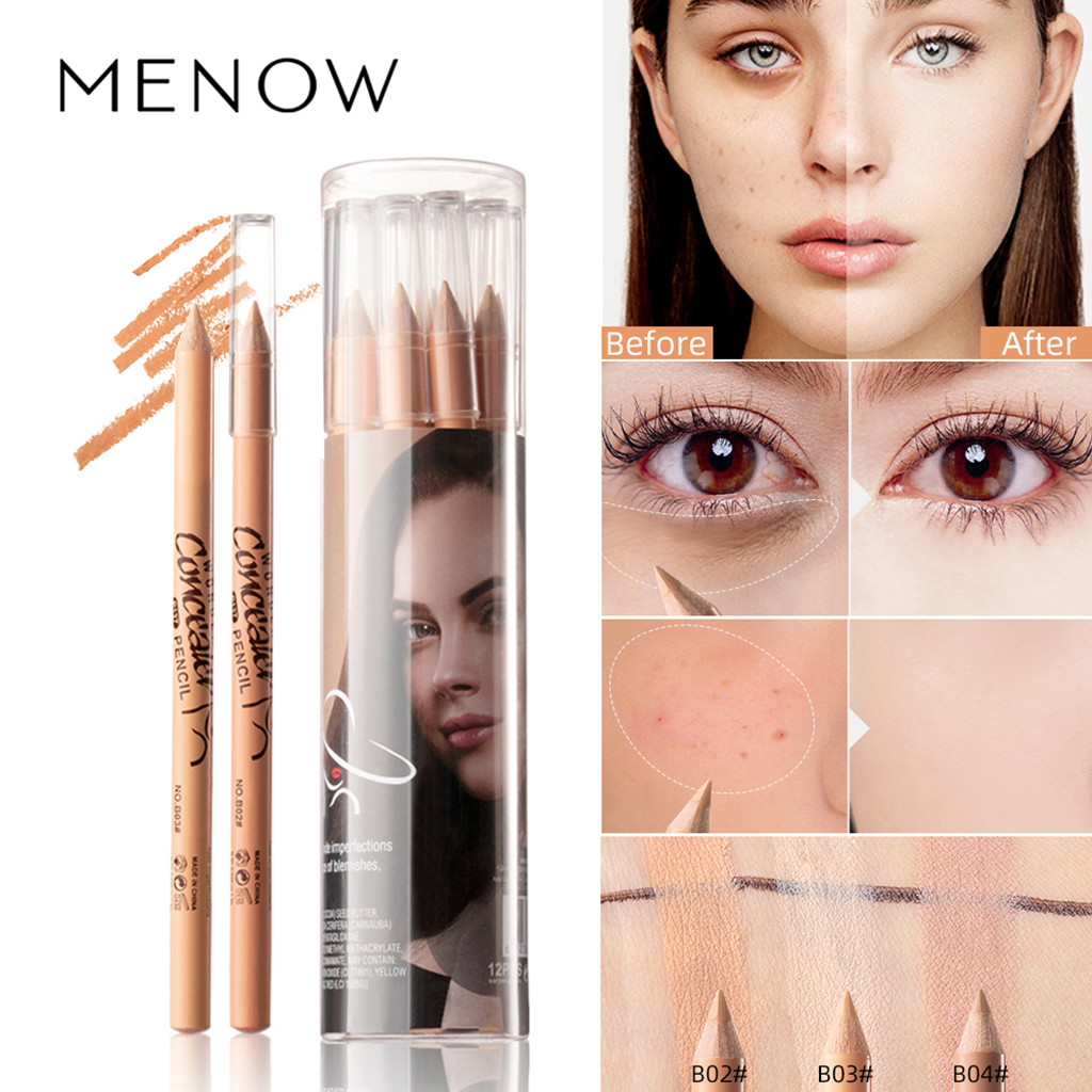 Waterproof Foundation Concealer Dark Hide Face Eye Pen Pencil Stick Contouring Multi-functional Wonder Pencil Brightens And Line