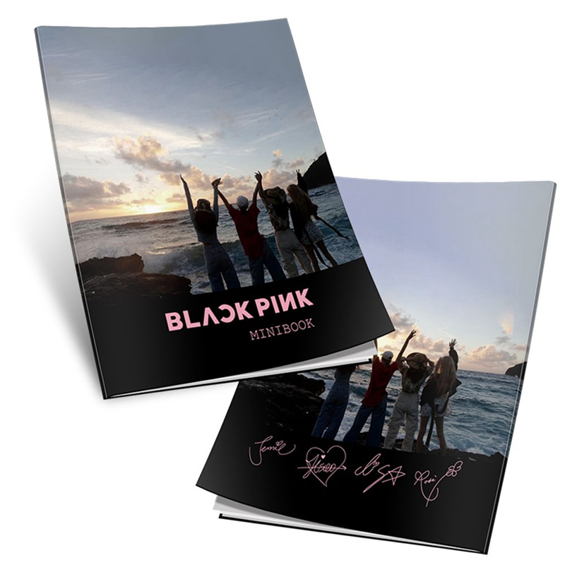 KPOP BLACKPINK Girls  New Album Photo Card PVC Cards Self Made Photo Album Photocard