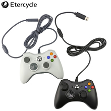 Gamepad For Xbox 360 Wired Controller for Windows 7/8/10 Microsoft PC Controller For XBOX360 Game Gamepad Joypad 2017 hot classic controller with usb gaming gamer joystick joypad for nes windows pc for mac computer game controller gamepad