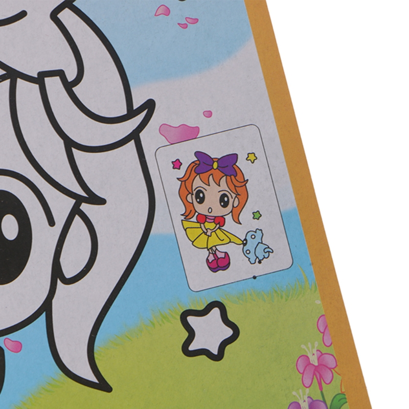 Magic Kids Rainbow Scratch Art Painting Book Scratching Paper EducationToys AXYF