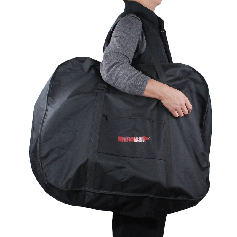 Foldable Bicycle Transport <font><b>Bag</b></font> Folding Bicycle Carry Packing <font><b>Bag</b></font> Waterproof Loading Vehicle Pouch <font><b>Bike</b></font> <font><b>Carrier</b></font> <font><b>Bag</b></font> image