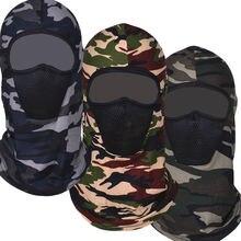 Военный cp Балаклава полный шарф для лица велоспорта шеи грелка