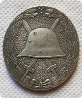 Colección de medallas de Alemania, copia de monedas, monedas réplica