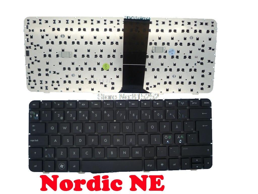 Клавиатура для ноутбука HP DV3-4000 Nordic NE/Португальский/Испанский 582373-DH1 584161-DH1 582373-131 584161-131 582373-071 584161-071