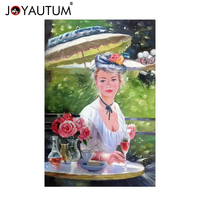 Characters hand painted oil painting bedroom decoration painting modern bathroom paintings European and American beauty