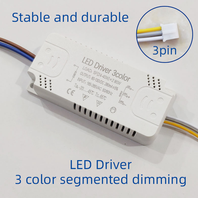 Светодиодный драйвер адаптер для Светодиодный светильник ing 12 Вт 24 Вт 30 Вт 36 Вт, 50 Вт, ручная сборка 100W AC220V Non-изолирующий трансформатор для св...