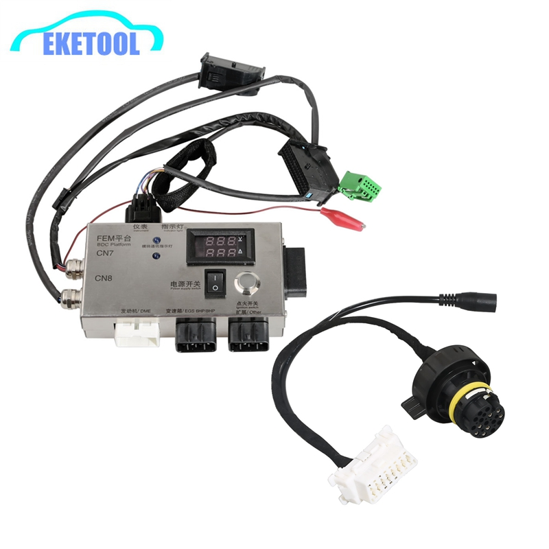 For BMW FEM/BDC Test Platform For BMW F20 F30 F35 X5 X6 I3 FEM BDC Control Module With Gearbox Plug Directly Work FEM BDC Tester
